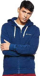 Champion Mens 212674 BV501INDI Full Zip Sweatshirt 212674 BV501INDI