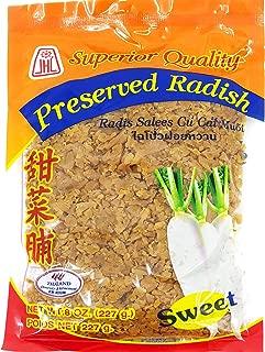 CHOPPED/MINCED SWEET Preserved Radish/Turnip (8oz) Product of Thailand