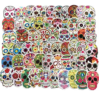 EKIND Not Repeat Graffiti Stickers for Tablet Skateboard Car Decals Bicycle (60Pcs, Demon Mask)