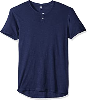 Alternative Men's Washed Slub Home Team Henley