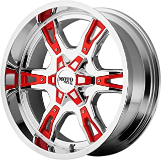 Moto Metal MO969 Triple Chrome Plated Wheel With Red And Black Accents (18x9
