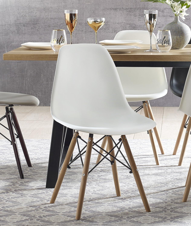 Elle Decor Elle Décor Renee Dining Chair Set, White
