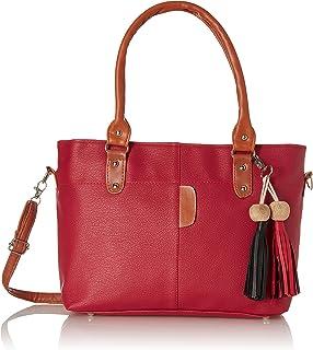 Envias Women's Handbag (EVS-069_Red)