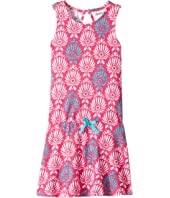 Hatley Kids - Porcelain Print Flounce Skirt Tank Dress (Toddler/Little Kids/Big Kids)