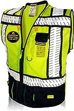 KwikSafety (Charlotte, NC) SPECIALIST (Multi-Use Pockets) Class 2 ANSI High Visibility Reflective Safety Vest Heavy Duty S...