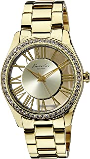 Kenneth Cole New York Women's Japanese Quartz Metal Case Yellow Gold Stainless Steel Analog watch ,(Model No-KC4853)