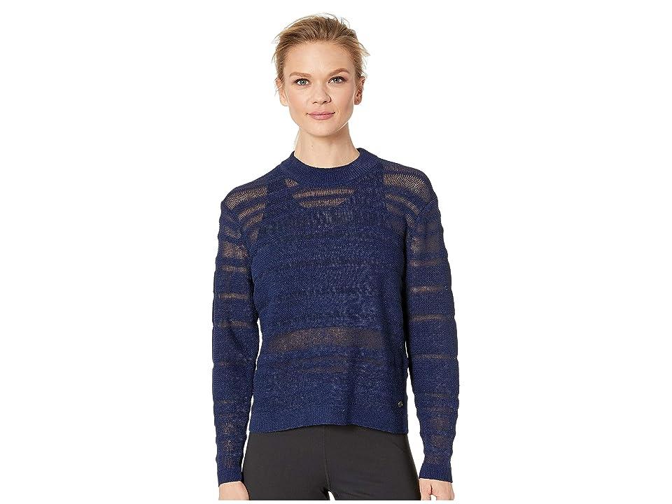 New Balance Sheer Studio Sweater (Pigment) Women