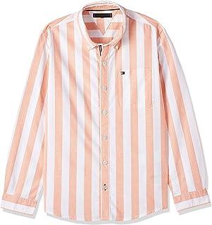 قميص ادابتف مخططة للأولاد من تومي هيلفيغر