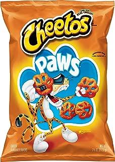 Cheetos Cheese Snacks, Paws, 7.5 Ounce