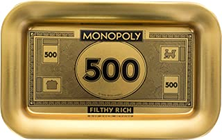 Monopoly Filthy Rich Money - Catch All Valet Tray for Men Wallet, Coin, Keys, Jewelry, and More
