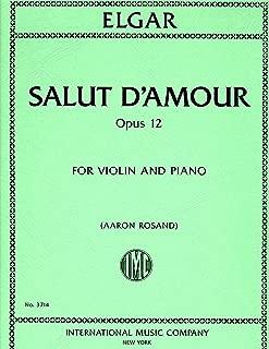 Best salut d amour violin sheet Reviews