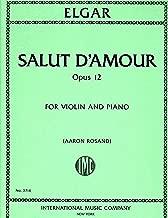 Elgar: Salut d'Amour, Op. 12 - Violin (International 3714)
