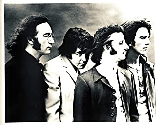 The Beatles-Mad Day Out Photo Session London black and white hair Classic 8 x 10 poster card print