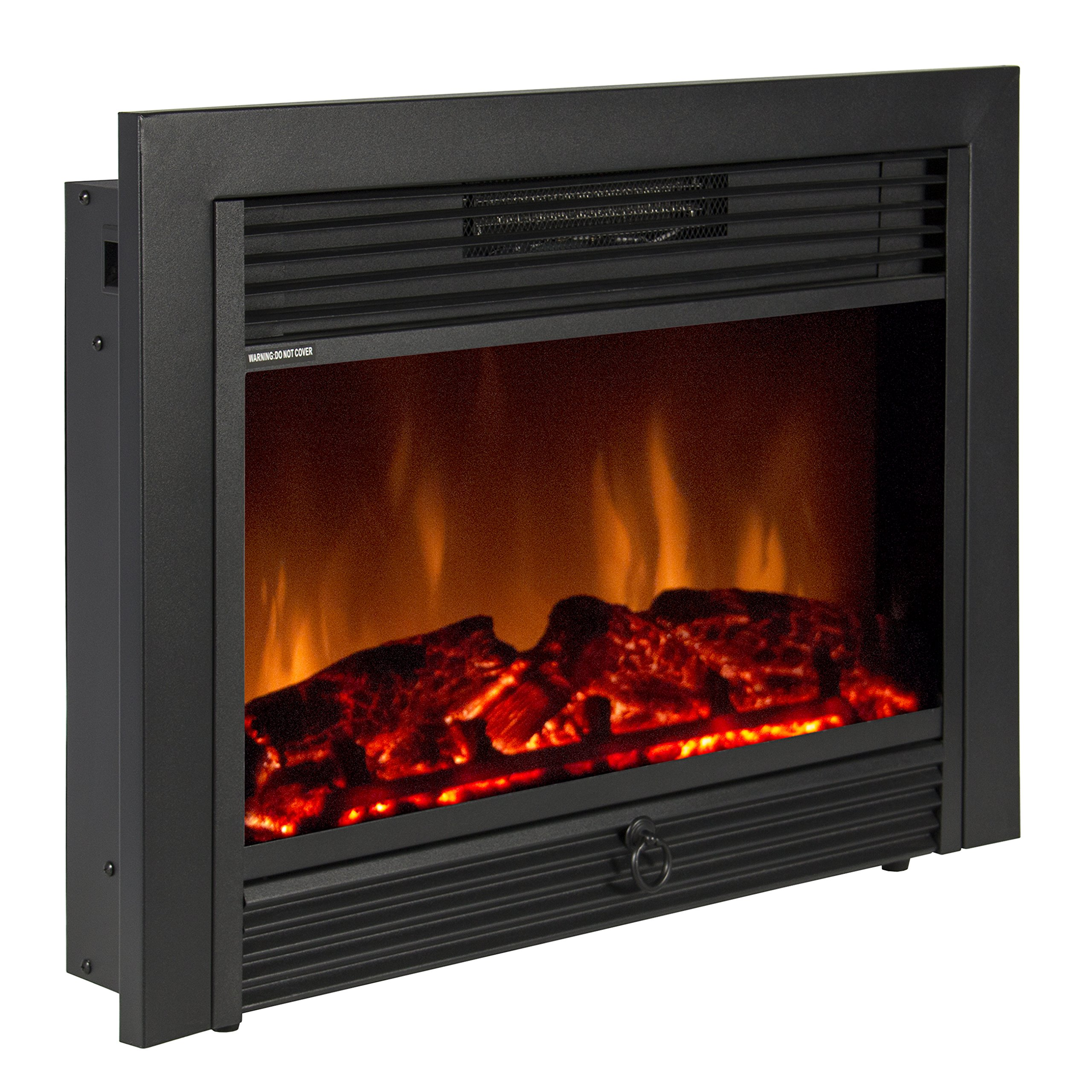 electric fireplace inserts with logs amazon com rh amazon com