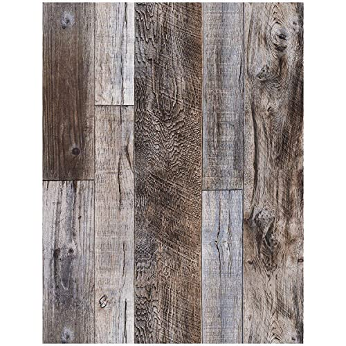 Faux wood wallpaper - Faux wood plank wallpaper ...