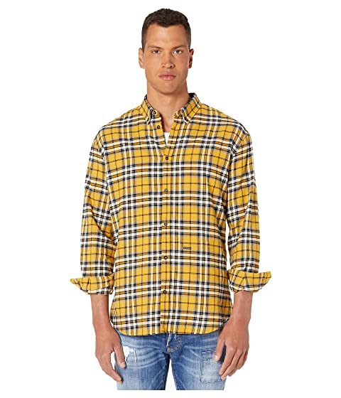 DSQUARED2 Check Relax Dan Button Up Shirt