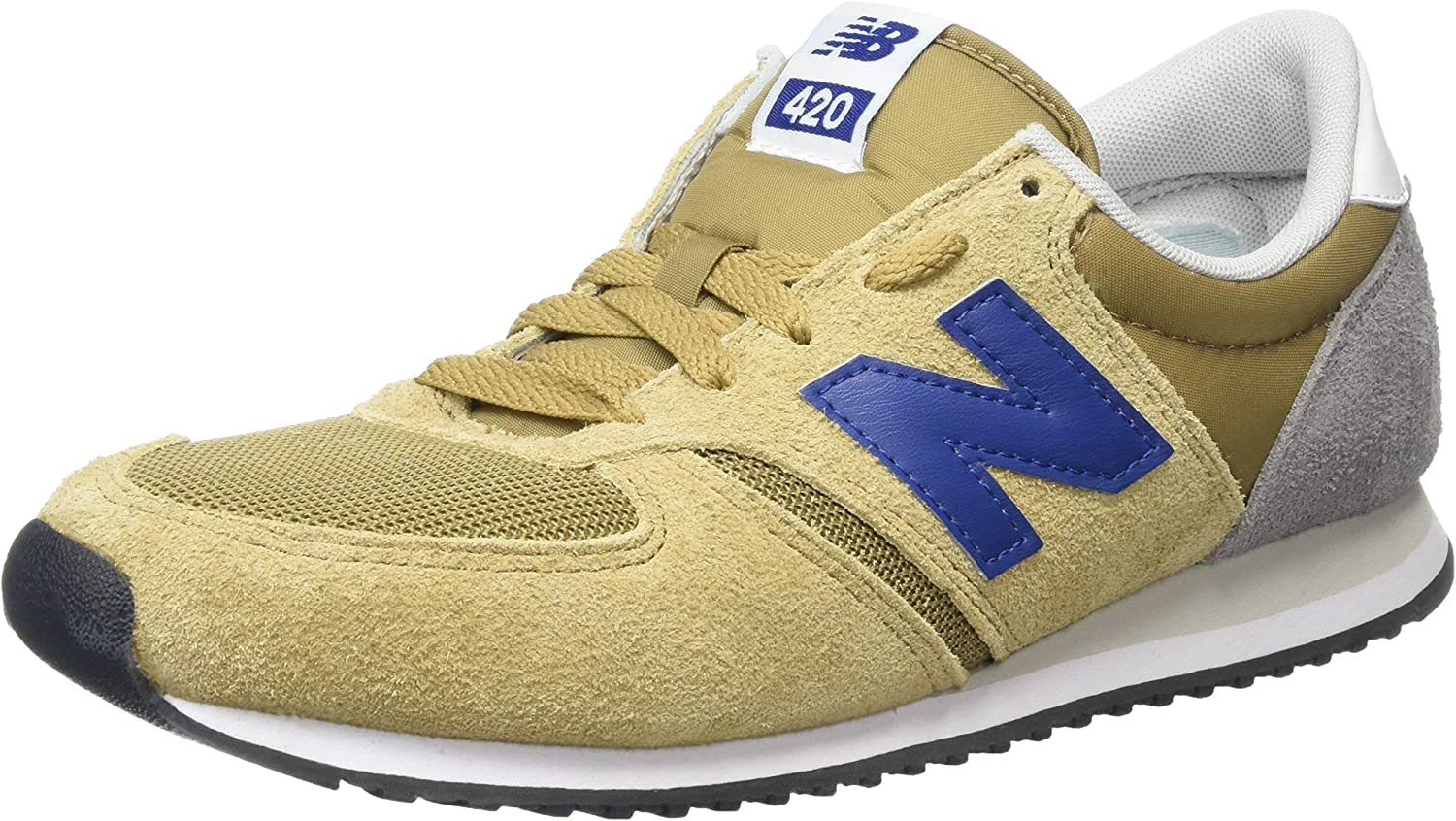 New Balance Mens U420ggg Low Top Trainers