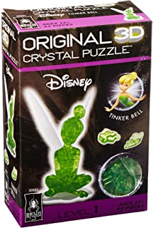 Bepuzzled Tinker Bell Original 3D Disney Crystal Puzzle 43 Pieces