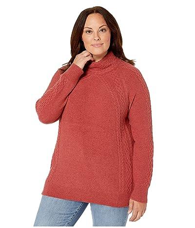 Aventura Clothing Plus Size Willa Sweater (Cardinal) Women
