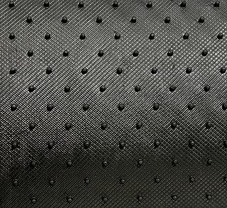 Intro-Tech Hexomat Front Row Custom Floor Mats for Select Honda S-2000 / CR Models - Rubber-like Compound (Black)