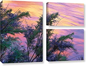 """ArtWall Dean Uhlinger 3 Piece Sandstone Reflections Gallery-Wrapped Canvas Flag Set, 36 by 48"""""""