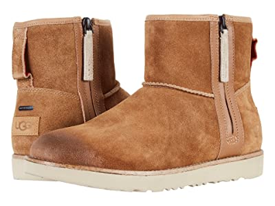 UGG Classic Mini Zip Waterproof (Chestnut) Men