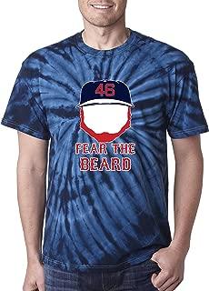 PROSPECT SHIRTS TIE-DYE Navy Boston Kimbrel Fear The Beard T-Shirt