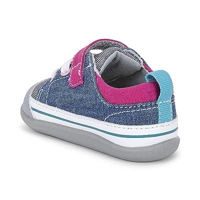 See Kai Run Kids Stevie II (Infant/Toddler) (Blue/Gray) Girl