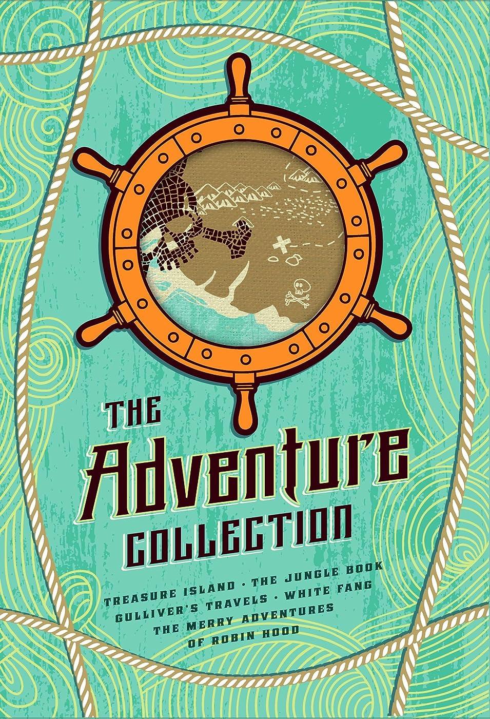 アルバニー人間流出The Adventure Collection: Treasure Island, The Jungle Book, Gulliver's Travels, White Fang, The Merry Adventures of Robin Hood: Gulliver's Travels, White ... (The Heirloom Collection) (English Edition)