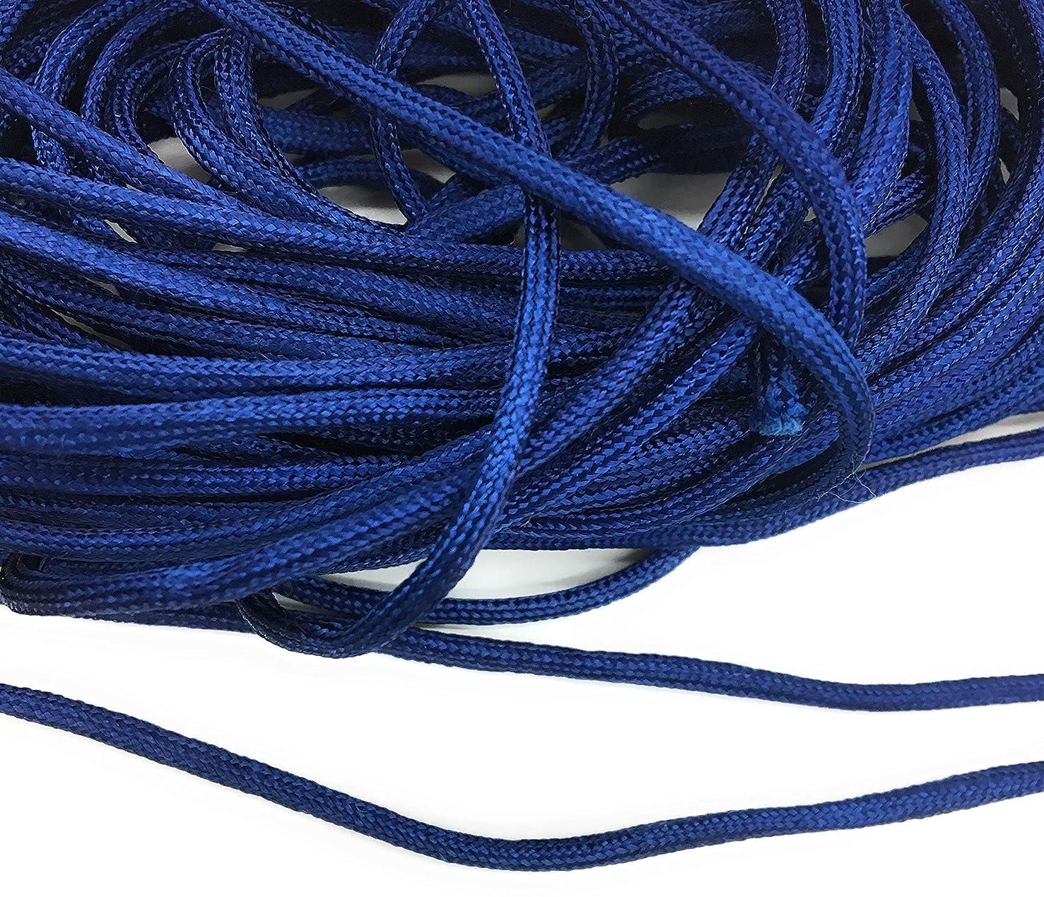 Weave Cobalt Blue Cord Trims 1/4