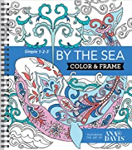 Download Book Color & Frame Coloring Book - By the Sea PDF