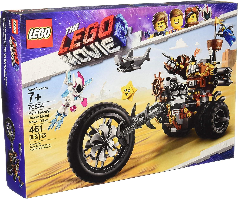 LEGO The Movie 2 MetalBeard's Heavy Metal Motor Trike  70834 Building Kit (461 Piece)