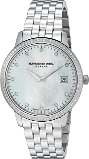 Women's Toccata Quartz Watch with Stainless-Steel Strap, Silver, 20 (Model: 5388-STS-97081)