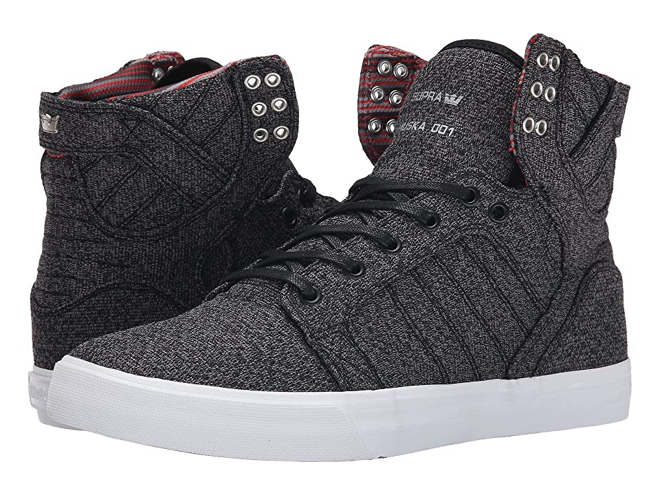 Supra Skytop (Microchip Heather/White) Men