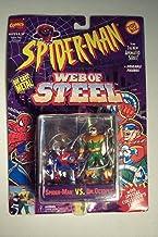 Spiderman The New Animated Series: Web Of Steel Spider-Man VS Dr. Octopus Die Cast Metal Figure by Web of Steel