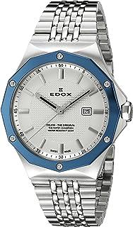 EDOX - 3BUM AIN Delfin 54004 - Reloj analógico de Cuarzo Suizo para Mujer