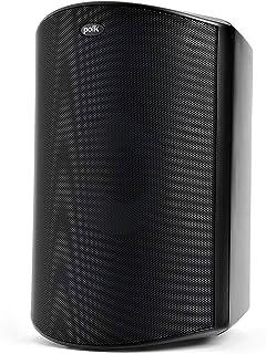 Polk Audio Atrium 8 SDI Flagship Outdoor Speaker (Black) - Use as Single Unit or Stereo Pair | Powerful Bass & Broad Sound...