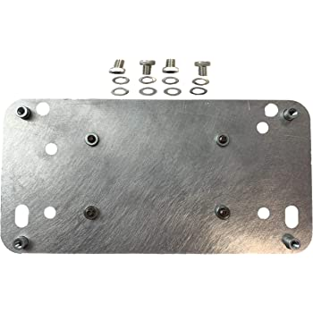 Victory Cross Country and Magnum Amplifier Mounting Bracket fits Kenwood KAC-M1824BT Amp Mount Your Amp Securely to Your Bike