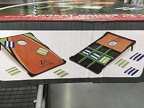 Eastpoint Solid Cornhole Set Bean Bag Toss & Tic Tac Toss