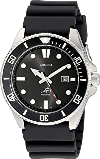 Casio Men's MDV106-1AV 200M Black Dive Watch.