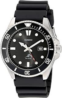 Men's MDV106-1AV 200M Duro Analog Watch, Black