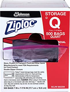 Ziploc Quart Bag 500ct, 500Count