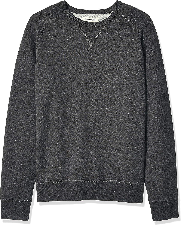 Amazon Brand - Goodthreads Men's Crewneck Fleece Sweatshirt