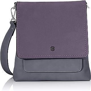 TOM TAILOR Umhängetasche Damen, Firenze, 24x5x24,5 cm, Handtasche, Schultertasche