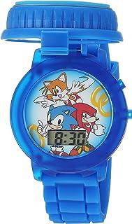 ساعة رقمية كوارتز بلون ازرق للاطفال من سونيك ذا هيدجهوج - SNC4020
