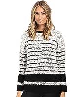 Calvin Klein - Stripe Eyelash Pullover