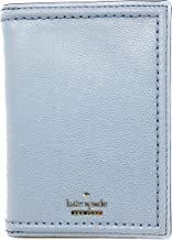 Kate Spade New York Patterson Drive Imogene Leather Passport Holder Wallet (Blue Dawn)
