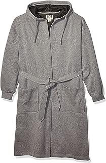Men's Athletic Fleece Hooded Robe, One Size
