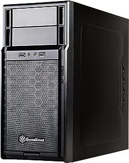 Silverstone Tek Micro-ATX, Mini-ITX Mid Tower Computer Case, Black PS08B