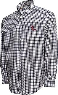 تي شيرت رجالي NCAA Ncaa Men's Campus Specialties Check Shirt، أبيض/كحلي/بلاتينيوم، X-Large